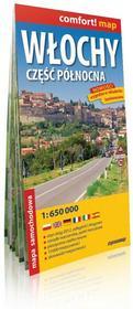 ExpressMap Włochy, część północna - mapa samochodowa (skala 1:650 000) - Praca zbiorowa