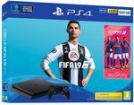 Sony PlayStation 4 Slim 500 GB Czarny + FIFA 19
