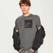 Reserved Koszulka z nadrukiem - Szary