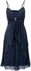 Bonprix Sukienka wieczorowa ciemnoniebieski