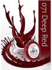 Semilac UV Gel Color 071 Deep Red 5ml Żel UV do paznokci 5902533440375