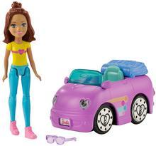 Barbie On The Go Pojazd z lalką wzór 3 - ekspresowa wysyłka i bezpieczeństwo zakupów  21 dni na zwrot.