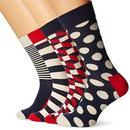 Happy Socks Happy skarpety skarpety dla mężczyzn Big Dot Gift Box - B01ING3EUA