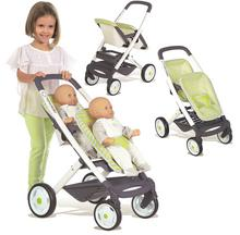 Smoby Bebe Confort Wózek spacerówka dla lalek bliźniaków 253294 253294
