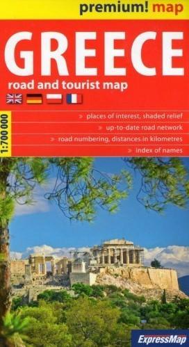 ExpressMap Greece mapa samochodowo-turystyczna 1:750 000 - Expressmap