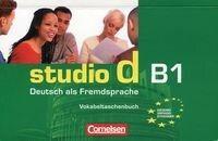 Studio d B1 Vokabeltaschenbuch Zeszyt słówek - Cornelsen