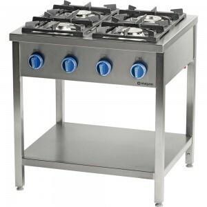 Stalgast Kuchnia wolnostojąca 999533 4-palniki 2x5+2x7