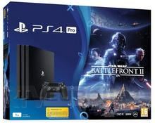 Sony PlayStation 4 Pro 1TB Czarny + Star Wars Battlefront II