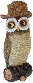 producent niezdefiniowany Ozdoba ogrodowa odstraszacz ptaków sowa ALX970060-kolor