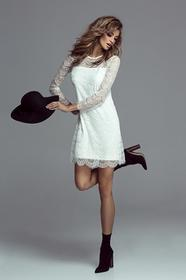 WOW ROMANICA- delikatna koronkowa sukienka