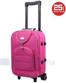 PELLUCCI Mała kabinowa walizka PELLUCCI 801 S - Różowy - różowy