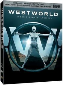 Warner Bros Entertainment WESTWORLD SEZON 1 3DVD) DIGIPACK Płyta DVD)