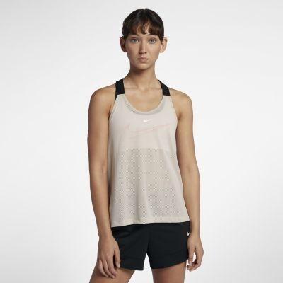 Damska koszulka treningowa bez rękawów Nike Elastika 2.0