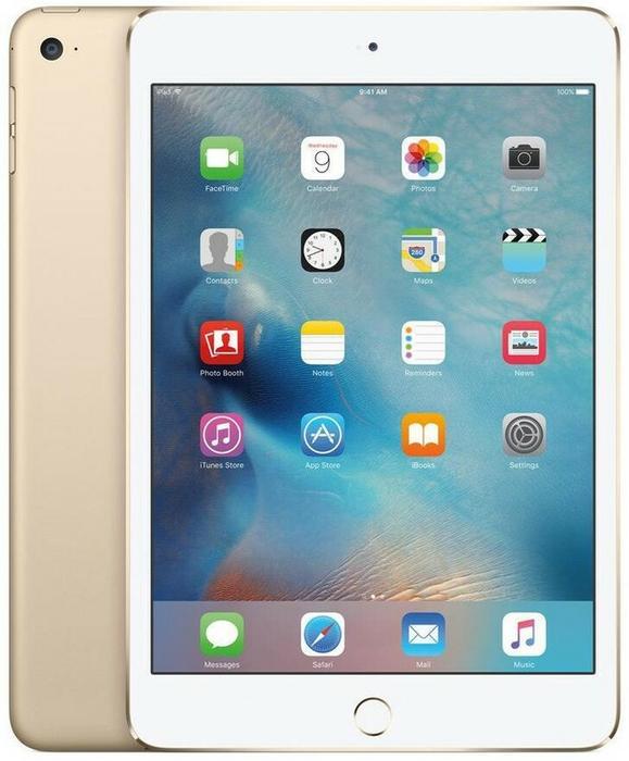 Apple iPad Mini 4 7.9 128GB Gold