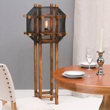 Dekoria Lampa podłogowa The Cage 145cm 60x60x145cm 009-086