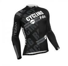 FDX FDX Pro Cycling Long Sleeve Thermal Jersey XL FDX_1050_WHITE#4