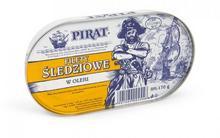 Łosoś Filety śledziowe w oleju 170 g Pirat