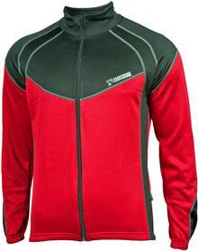 CROSSROAD CROSSROAD KENT ciepła bluza rowerowa czarno-czerwona