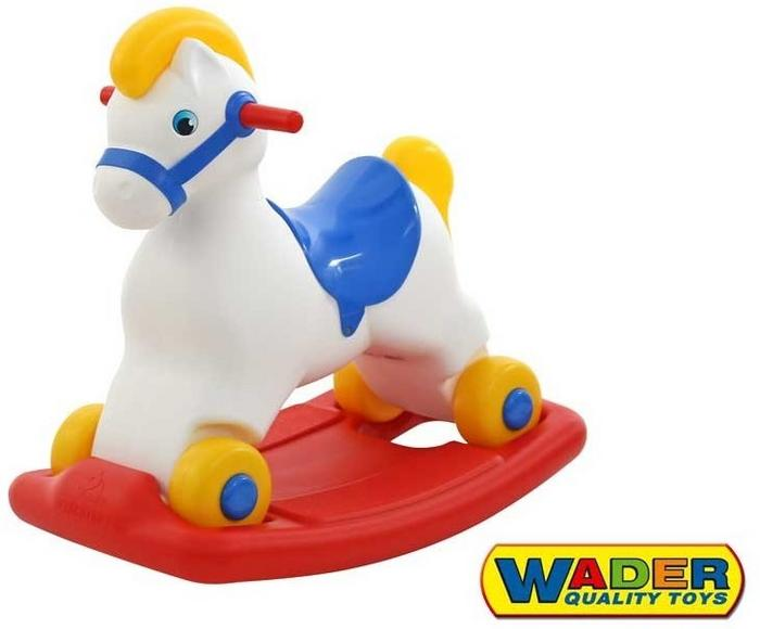 Wader Quality Toys WADER - PONI Konik na biegunach jeździk 53541