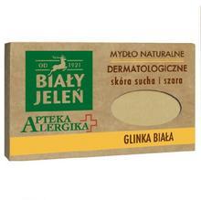 Pollena Mydło dermatologiczne z białą glinką Apteka Alergika 125 g NN-KBJ-I125-001