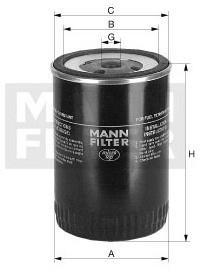 MANN Filtr paliwa -FILTER WK 950/3