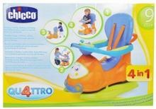 Chicco Jeździk QUATTRO 4 w 1 pomarańczowy CHI913337