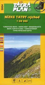 TatraPlan Nízke Tatry - východ 1:50 000