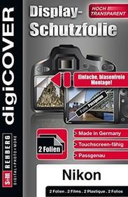 digiCOVER DigiCover ochronna na wyświetlacz do Nikon D7500Przezroczyste B4516