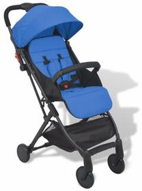 vidaXL Niebieski, kompaktowy wózek spacerowy SKU: 10136