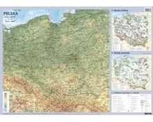 Demart S.A. Polska - mapa ścienna - OD WYDAWCY
