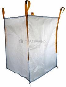 Worek BIG BAG do kiszenia kukurydzy - kiszonki, wym.900x900x1200mm