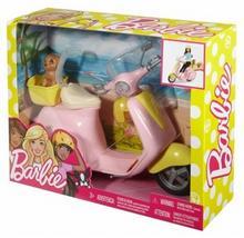 Mattel Barbie Skuter Ze Szczeniaczkiem DVX56