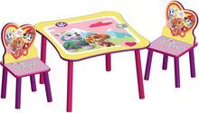 Delta Psi Patrol Drewniany Stolik i 2 krzesełka dla dzieci TT89578PW