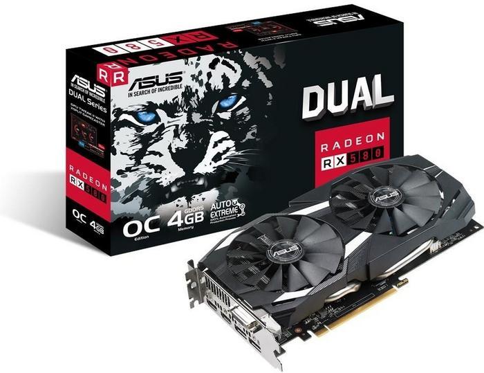 Asus Radeon RX 580 Dual OC