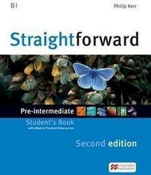 Straightforward 2nd edition Pre-intermediate Student's Book with eBook and Practice Online access - dostępny od ręki, wysyłka od 2,99