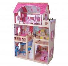 EcoToys Domek dla lalek Rezydencja Malinowa ZA-4109