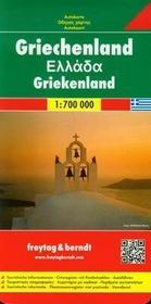 Freytag&berndt Grecja mapa 1:700 000 Freytag & Berndt - Freytag & Berndt