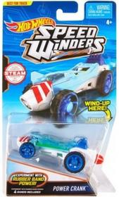 Mattel Hot Wheels Autonakręciak i samochodziki, Power Crank DPB70/DPB72