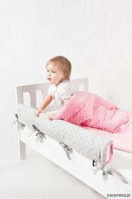 Ikea Ochraniacz do łóżka serduszka