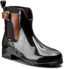 863cb1d96bcce -27% Tommy Hilfiger Kalosze Oxley 2Z2 FW56822108 Black Winter Cognac 990