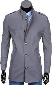 Ombre Clothing Clothing PŁASZCZ C269 - SZARY 42176