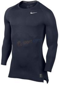 Nike koszulka termiczna Cool Compression Pro Combat LS (granatowa) 703088 451