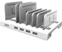 Unitek Listwa do ładowania Y-2187A 4x USB 2,4A + stand 4894160025708