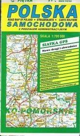 Nieprzypisany Polska drogowa 1:700 WKBP0012