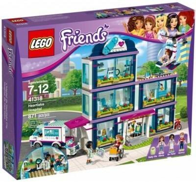 LEGO Friends Szpital w Heartlake 41318