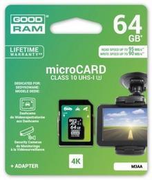 Goodram microSDHC 64GB MLC U3 UHS I + adapter