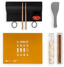 Blumtal 7-częściowy zestaw do sushi, w zestawieinstrukcja (może nie być dostępna w języku polskim), mata silikonowa do rolowania, naczynia do Nigiri, łyżka do ryżu, pałeczki bambusowe, dla siebie lub