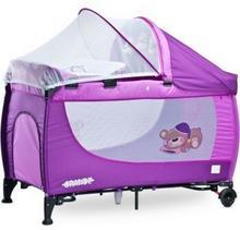 Caretero IKS 2 łóżeczko łóżeczka turystyczne Grande Purple