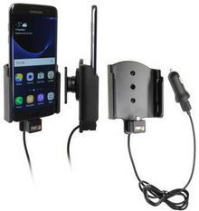 Brodit AB Uchwyt do Samsung Galaxy S7 Edge z wbudowanym kablem USB oraz ładowarką samochodową. 521866