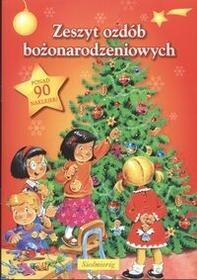 Zeszyt ozdób bożonarodzeniowych / wysyłka w 24h